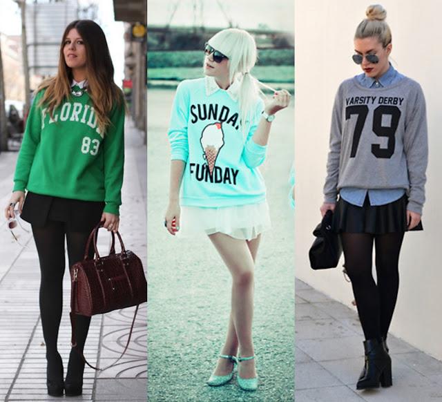 Resultado de imagem para look i moletom fashion