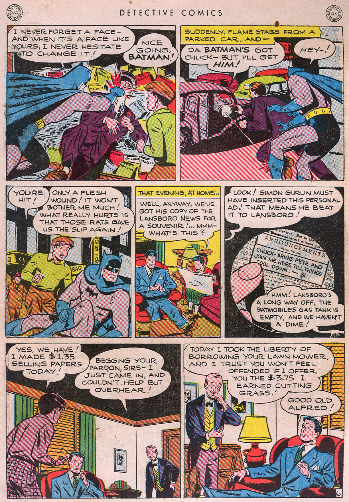 Read online Detective Comics (1937) comic -  Issue #105 - 8