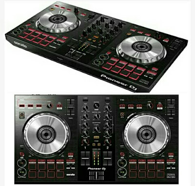 Pioneer Music Mixer DJ Controller with Pad Scratch - Musical Instruments