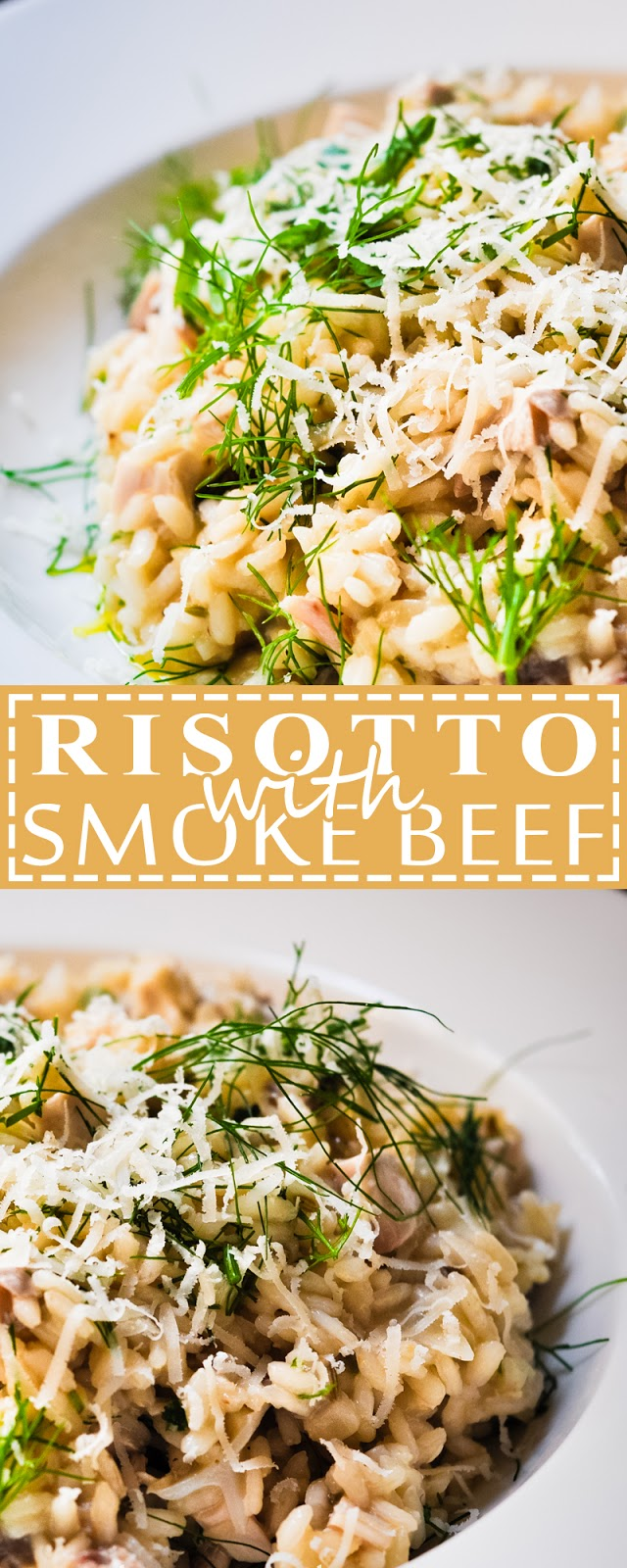 RISOTTO WITH SMOKE BEEF