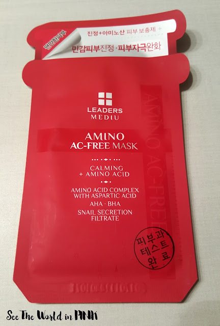 Leaders Mediu Amino Acid AC-Free Mask