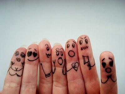 Creatividad con los dedos
