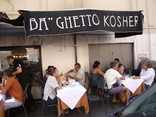 ba ghetto fuori - Ba Ghetto - o melhor Kosher de Roma!