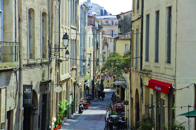 Bairro Saint-Roch em Montpellier