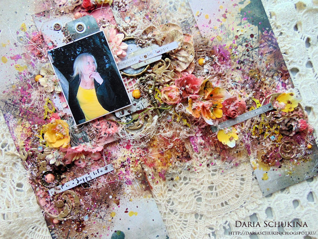 @dashylya_schukina #7dotsstudio #finnabair #finnabairproducts #primamarketing #primaflowers #primamarketinginc #scrapbooking #mixedmedia #скрапбукинг #миксмедиа