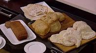اميرة شنب في أميرة في المطبخ  3-8-2017 طريقة عمل عيش شامي - عيش بالردة - عيش توست بني - عيش صاج