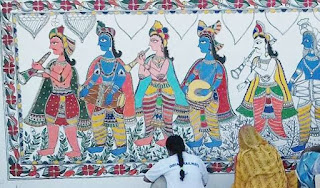 purnia-station-will-be-painted-by-madhubani-painting
