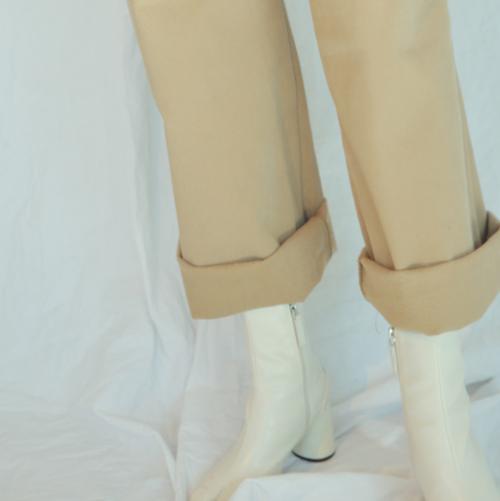Loose Leg High-Rise Pants