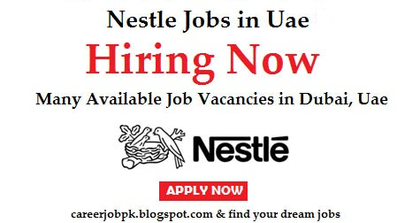 Latest Jobs in Nestle Foods UAE