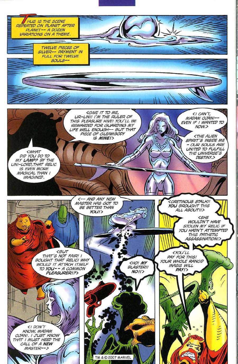 Read online Silver Surfer (1987) comic -  Issue #116 - 30