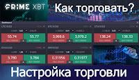 PrimeXBT - Как торговать? Настройка терминала и торговли