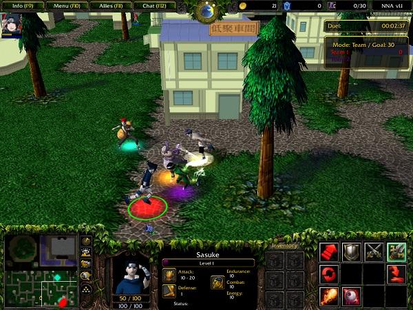 Naruto Ninja Arena V13 AI Map Download Game2f