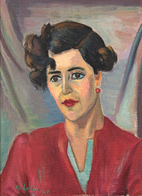 Portrait of a Woman, Maggie Laubser