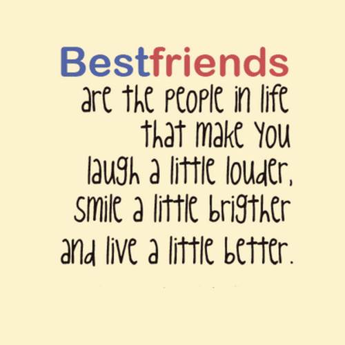 cute best friend quotes with wishes