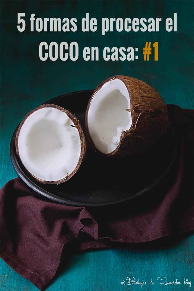 Cinco maneras de procesar el COCO en casa y recetas sencillas que destacan toda su esencia