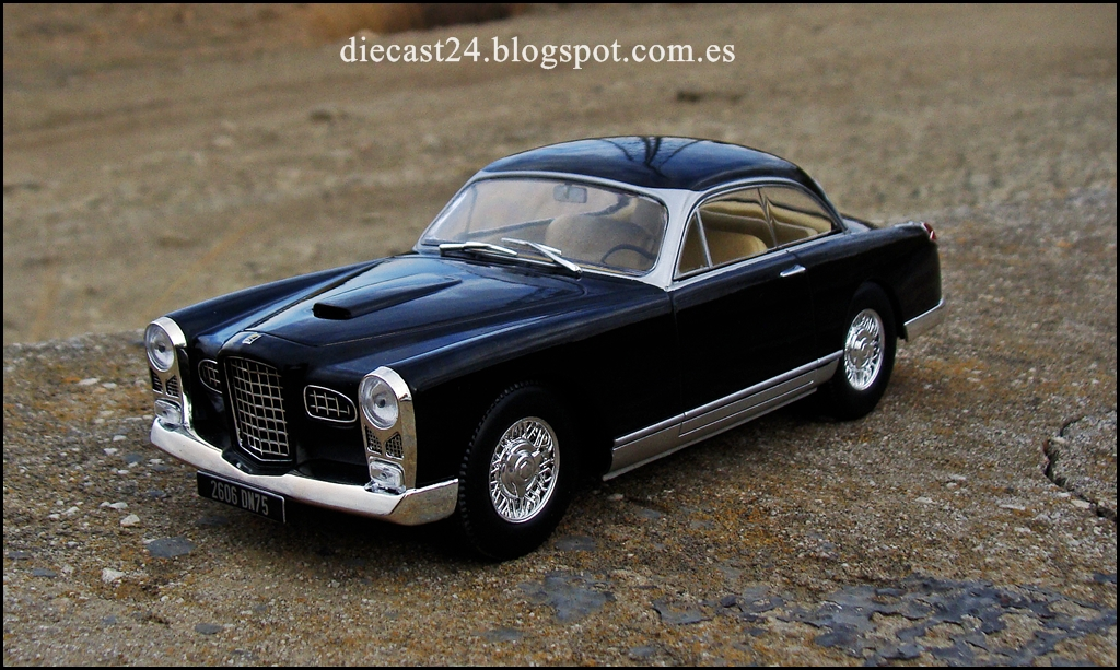 1 24 miniaturas facel vega fv 1955 auto vintage de luxe 1 24 entrega 30. Black Bedroom Furniture Sets. Home Design Ideas
