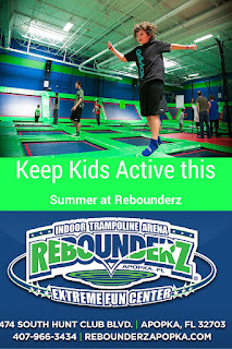 Keep Kids Active at Rebounderz