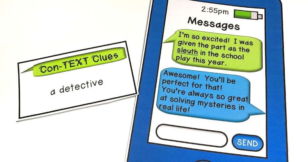 The Techie Teacher Context Clues Freebie Classroom - Www