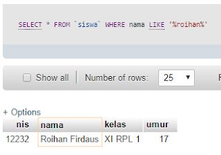 Belajar Teknik Pencarian dengan PHP