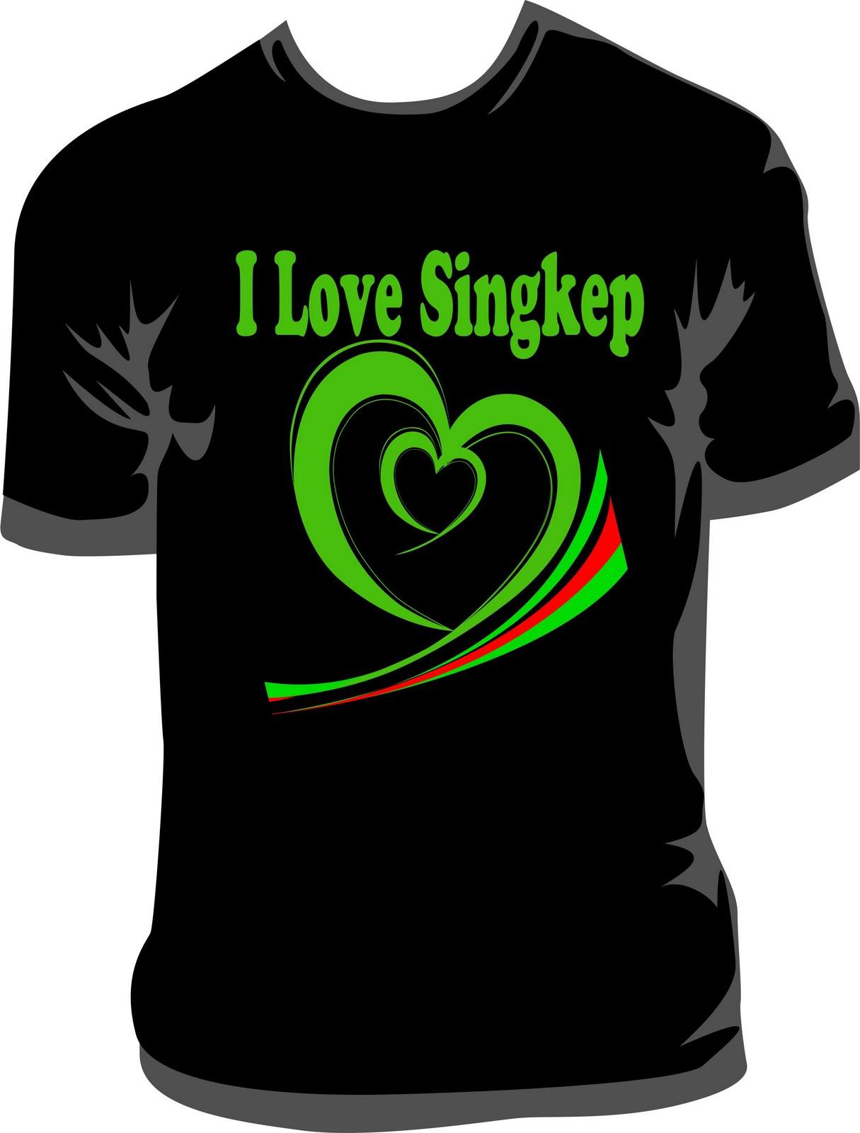 Contoh Desain Baju Kaos Terbaru 2012| Desain Kaos Singkep