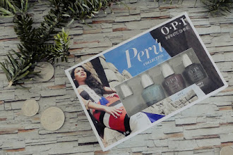 Peruvian Colours On Your Nails With OPI's Perú Infinite Shine