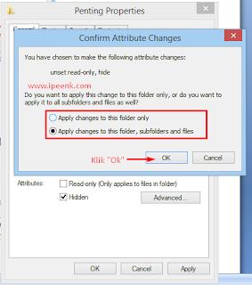 Cara Menyembunyikan File atau Folder Di Windows