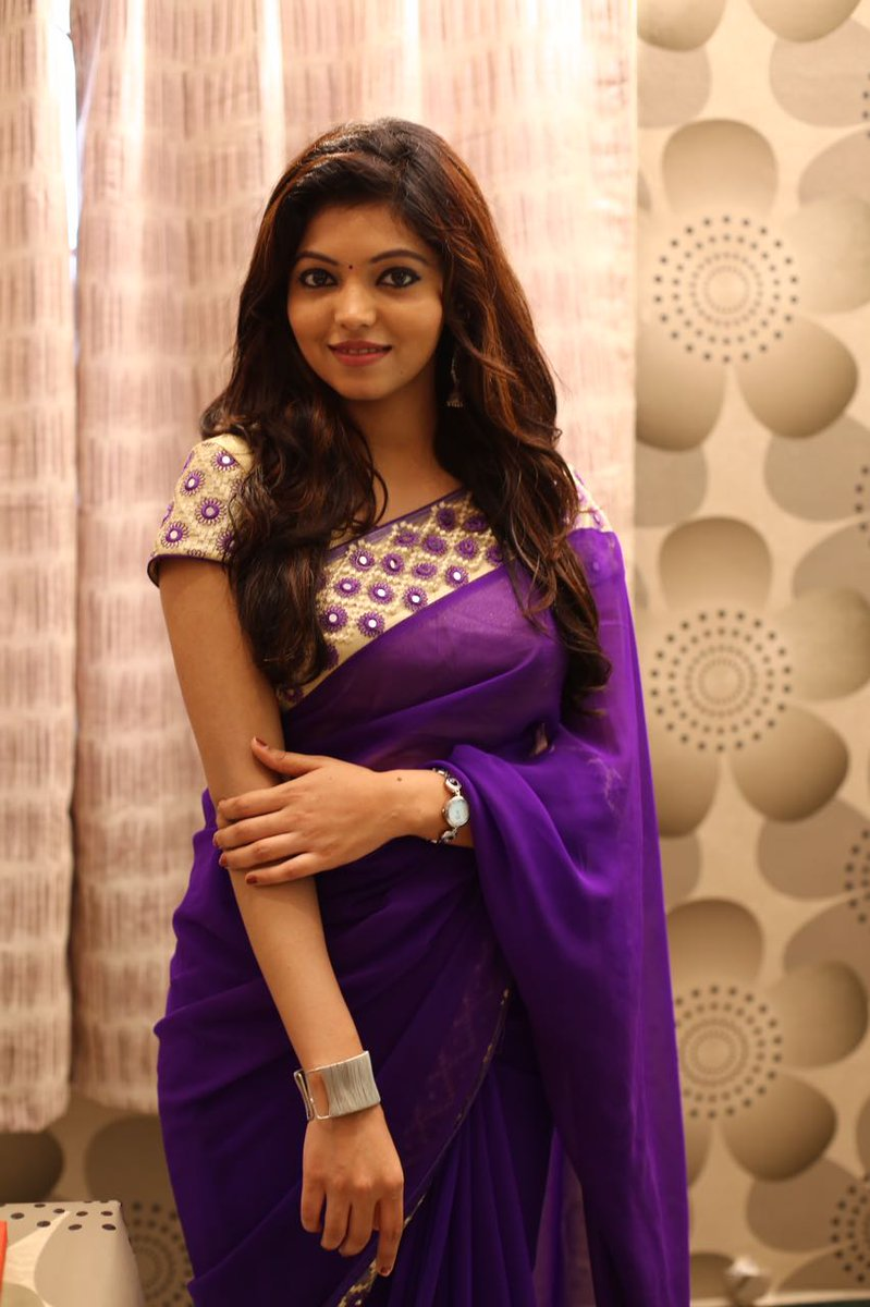 Athulya Ravi New Saree Photos