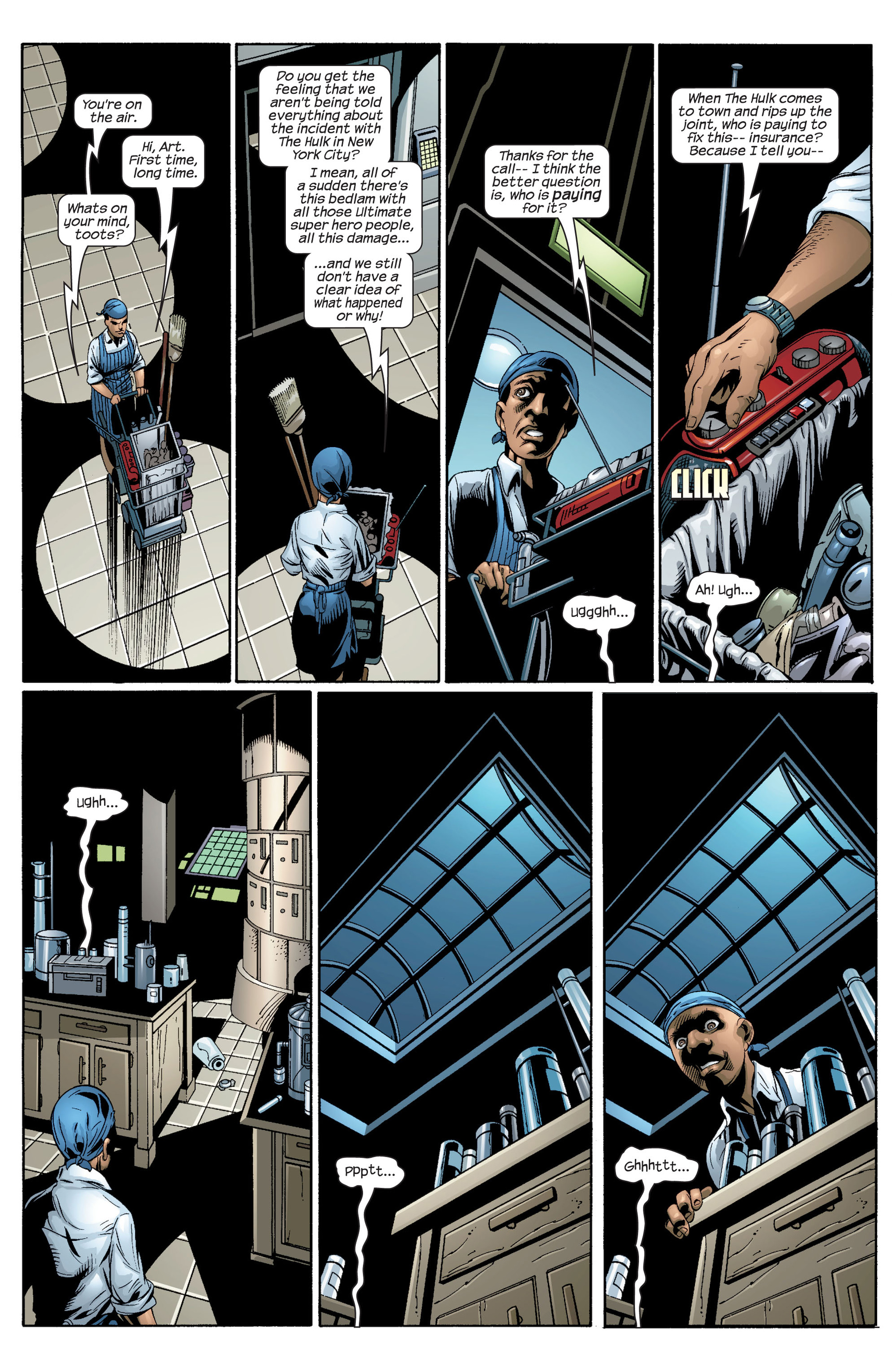 Read online Ultimate Spider-Man (2000) comic -  Issue #37 - 12