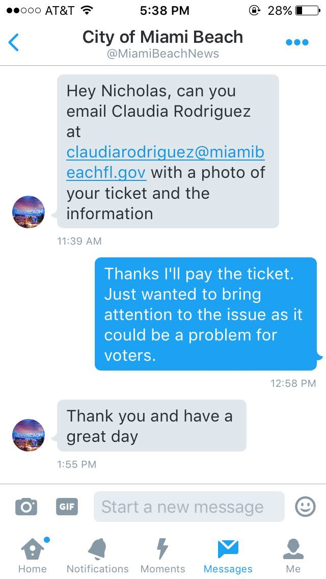 City Of Miami Beach Pay Parking Ticket