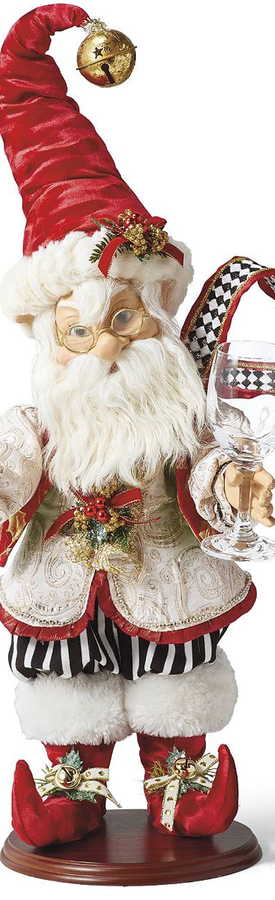 Frontgate Mark Roberts Party Elf Glass Holder