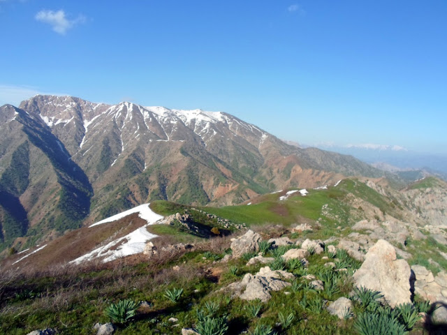 Хребет Харангони, Варзобское ущелье, горы Таджикистана - фото-обзор похода