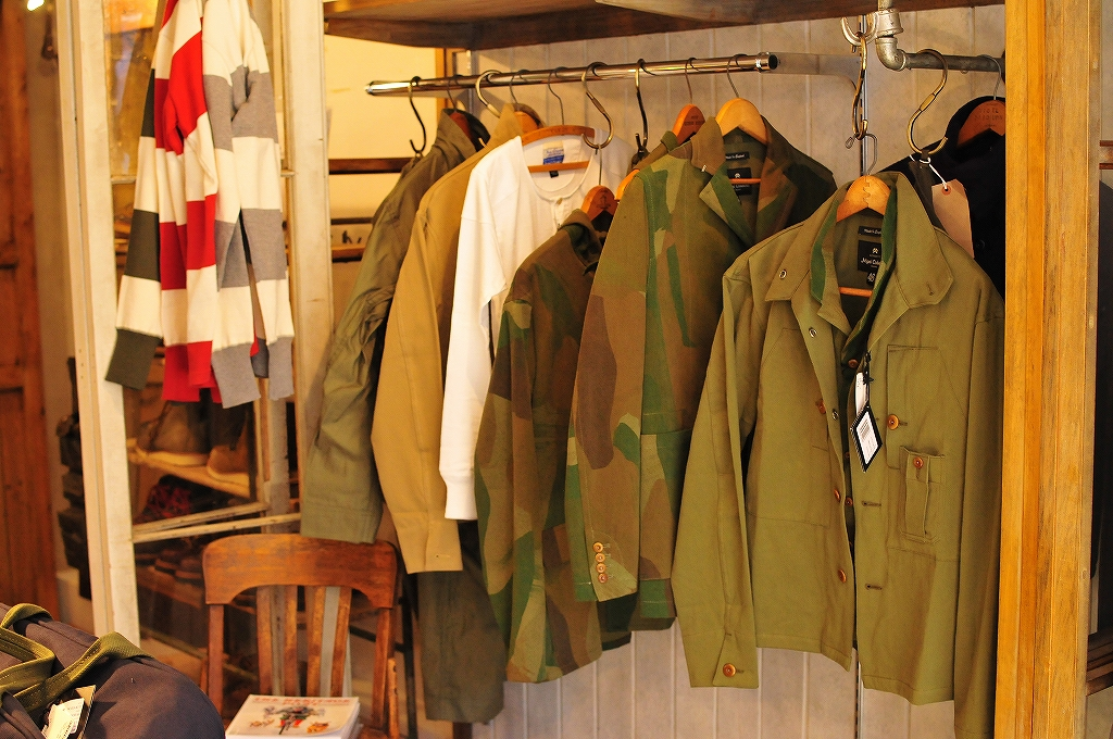 3ae30ea1760e Nigel Cabourn   ナイジェル・ケーボン  THE ARMY GYM TOKYO SS13 ご予約会