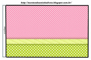 Green, Pink and Polka Dots: Free Printable Quinceañera Party Candy Bar Labels