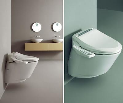 Baño de ultima tecnología - diseño industrial