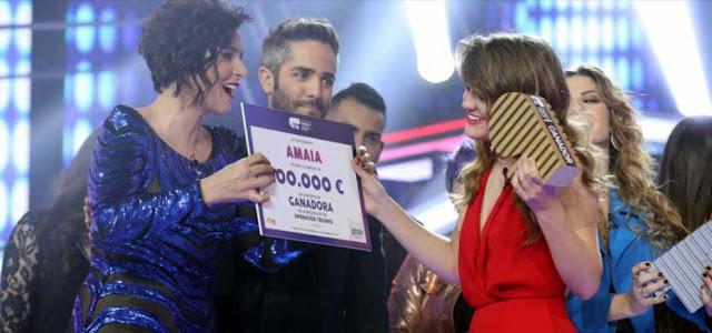 Amaia es la ganadora de ot 2017