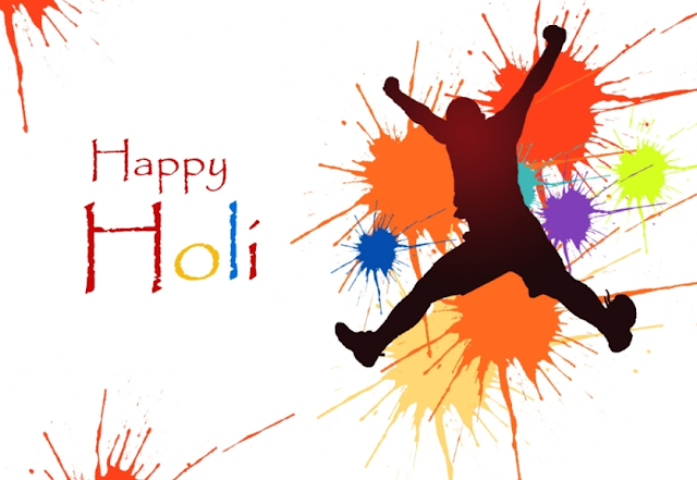 Advance Happy Holi Messages