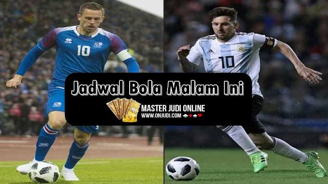 Jadwal Pertandingan Sepak Bola 15 - 16 Juni 2018