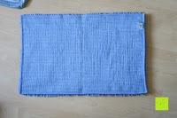 unten: Norcho 50x80cm Absorbierende Rutschfeste Badematte für Hund und Badezimmer Blau