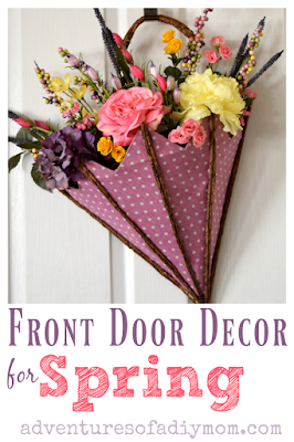 Spring Decoration for Front Door