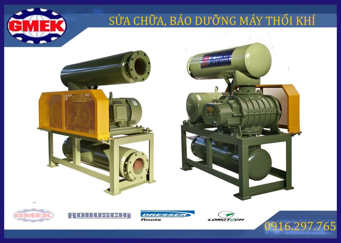 Bảo dưỡng máy thổi khí, sửa chữa máy thổi khí, máy thổi khí, Roots blower,