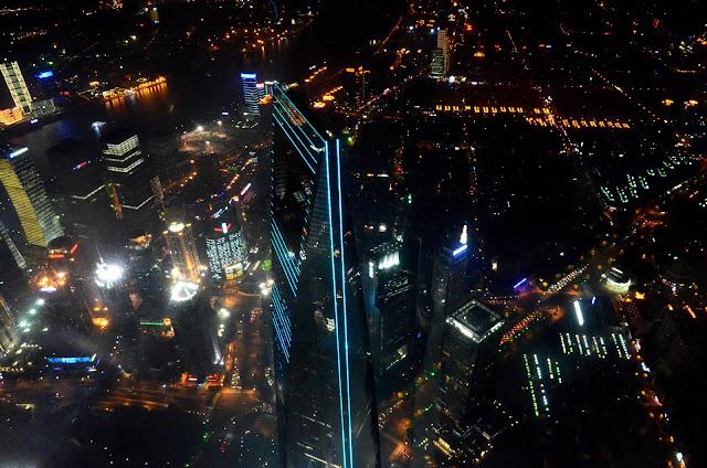 상하이타워에서 보는 야경