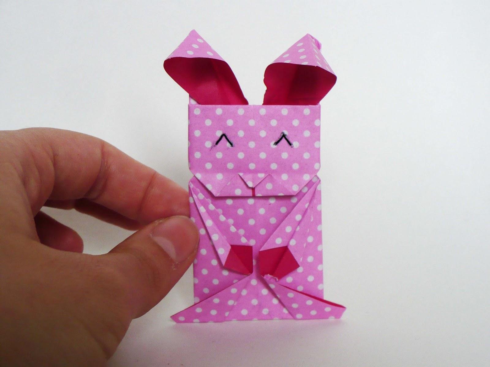 Chocolate Cecilia: Easter origami rabbits tutorial - photo#19