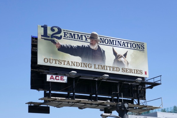 Godless Emmy nominee billboard