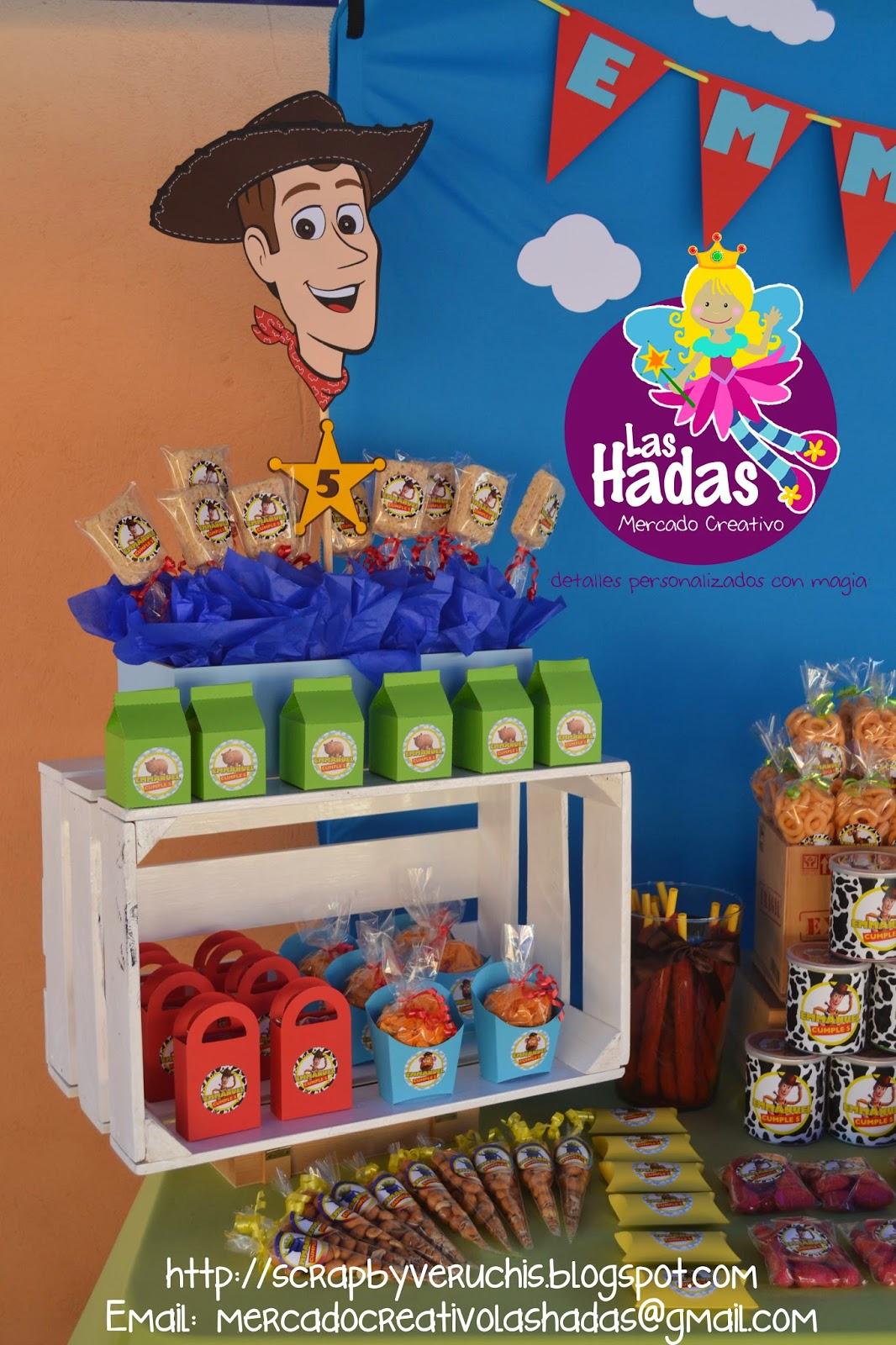 Scrapbyveruchis mesa de dulces toy story - Como decorar una mesa grande de salon ...