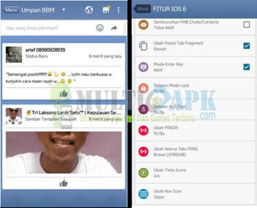 BBM Mod IOS 6 APK Android Terbaru 2016