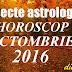 Aspecte astrologice în horoscopul octombrie 2016