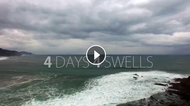 4 Days 4 Swells Rokaputa Izustarri Sorginetxe surfing