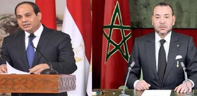 السيسي وملك المغرب