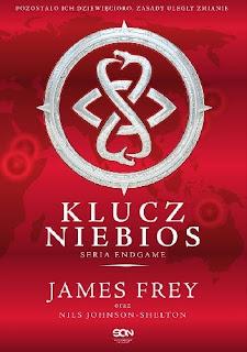 Endgame. Klucz Niebios - James Frey