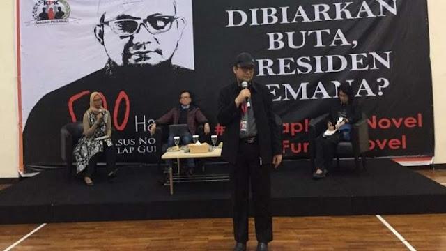 500 Hari Kasusnya Tak Diungkap, Novel Baswedan Protes Jokowi